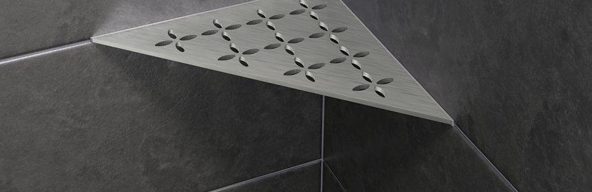 Schluter unveils brushed stainless steel shower shelves   TileLetter