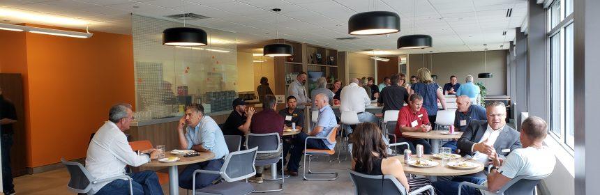 NTCA Five-Star Contractors Summer Meeting attendees sharing insights.