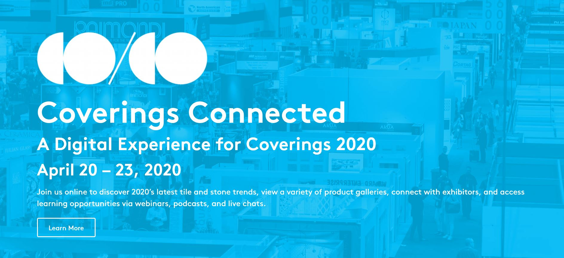 Coverings Connected logo