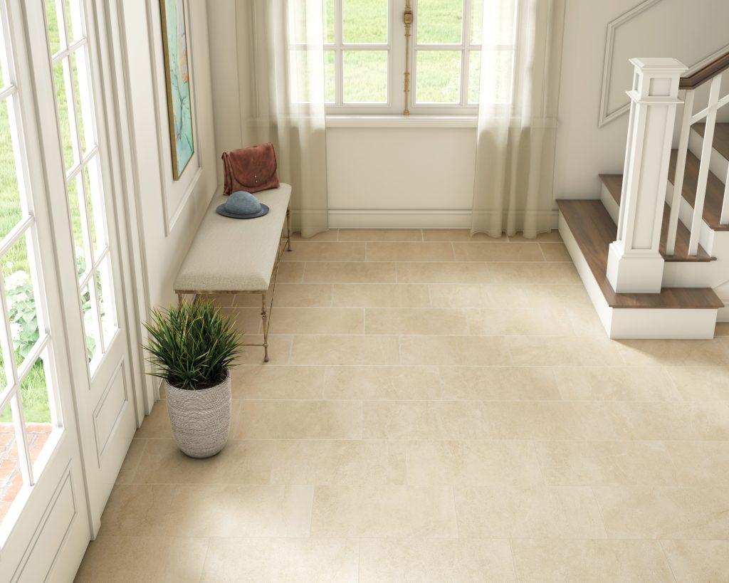 12x24 floor tile in beige