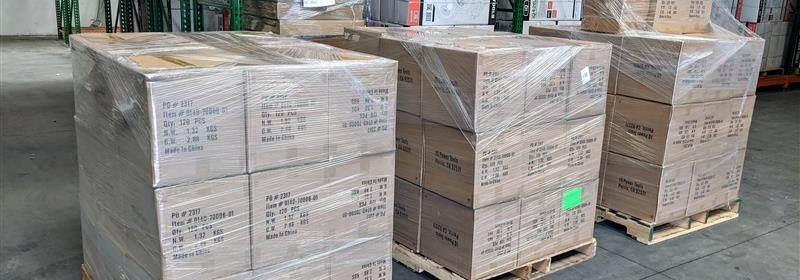 iQ N95 masks ready for delivery