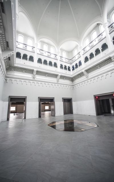 Photo of Lexington courthouse atrium