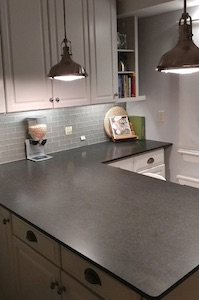 Photo of kitchen countertop