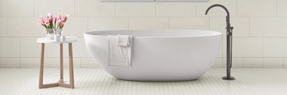 bath scene