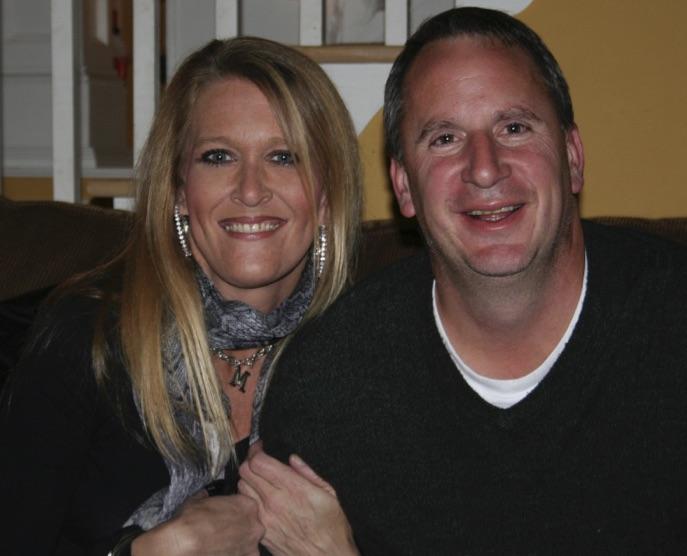 Michelle Chapman with Bart Bettiga