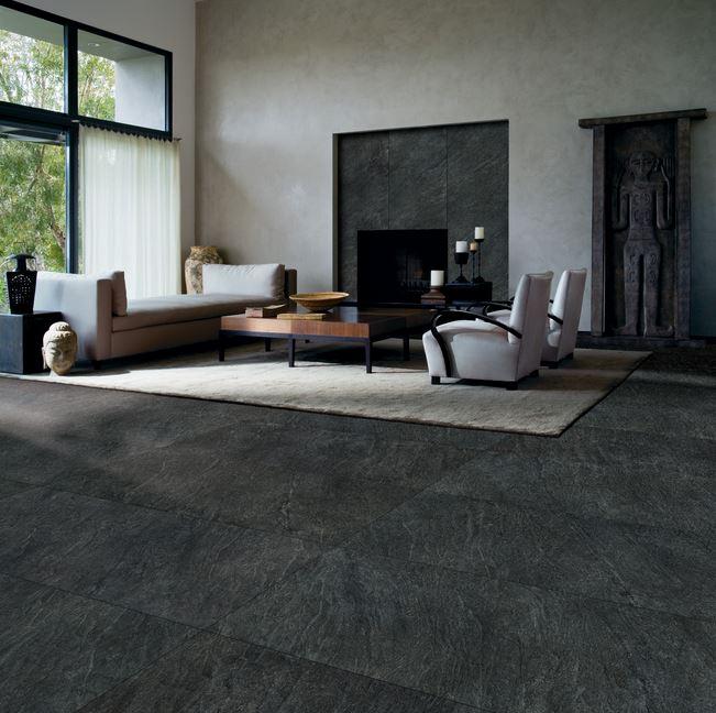 Crossville In-Side Nero living room