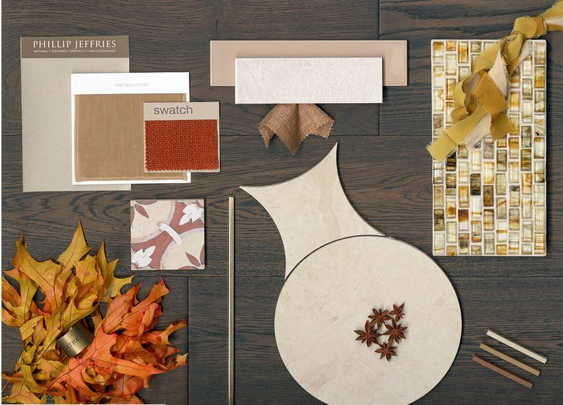 fall tones mood board by AlysEdwards