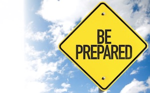 be-prepared warning sign
